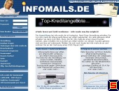 Screenshot Infomails.de