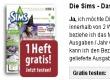 Sims Magazin kostenlos testen - Probeabo - Vorschau